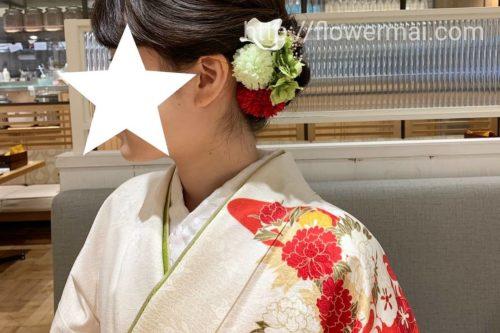 髪飾り ヘアーアクセサリー 和服 手作り